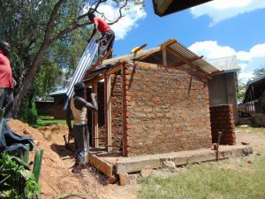 The Water Project:  Adding Latrine Rood