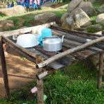 The Water Project: Kapchorwa Primary School -  Dish Rack
