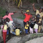 The Water Project: Munenga Community, Burudi Spring -  Celebrating The New Spring
