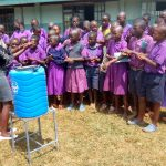 The Water Project: Munyanza Primary School -  Handwashing Training