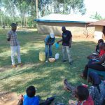 The Water Project: Sichinji Community, Makhatse Spring -  Handwashing Training