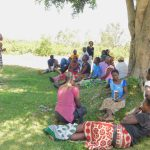 The Water Project: Eshiakhulo Community, Asman Sumba Spring -  Dental Hygiene Training