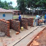 The Water Project: Musasa Secondary School -  Latrine Walls
