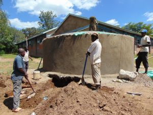 The Water Project:  Working On The Dome