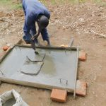 The Water Project: Eshiakhulo Community, Kweyu Spring -  Building A Sanitation Platform