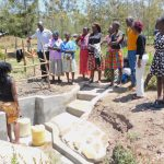 The Water Project: Eshiakhulo Community, Asman Sumba Spring -  Spring Care Training