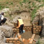 The Water Project: Shihingo Community, Mangweli Spring -  Brick By Brick