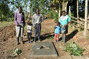 The Water Project:  Satisfied Beneficiaries
