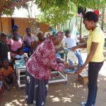 The Water Project: Musango Community, Mushikhulu Spring -  Handwashing Training