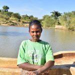 The Water Project: Katung'uli Community C -  Elizabeth Nduku