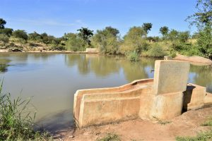 The Water Project:  Well And Dam A Year Later