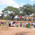 The Water Project: Muluti Community -  Celebrating Completed Dam