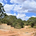 The Water Project: Muluti Community -  Completed Dam