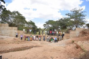 The Water Project:  Standing On Completed Dam
