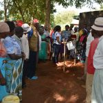 The Water Project: Muluti Community -  Tippy Tap Construction