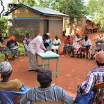The Water Project: Muluti Community -  Training Day One