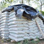 The Water Project: Ivumbu Community -  Cement Bags
