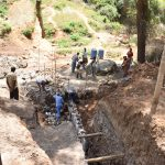 The Water Project: Ivumbu Community -  Dam Construction