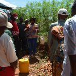 The Water Project: Ivumbu Community -  Tippy Tap Training