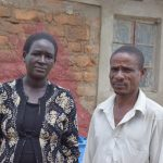 The Water Project: Kaketi Community -  Benson Muia And His Wife