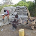 The Water Project: Kathamba Ngii Community A -  Cement