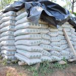 The Water Project: Ivumbu Community A -  Cement Bags