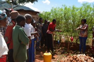 The Water Project:  Tippy Tap Training