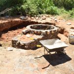 The Water Project: Ivumbu Community A -  Well Construction