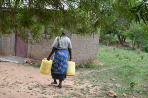 The Water Project:  Carrying Water At Home