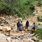 The Water Project: Kaketi Community A -  Carrying