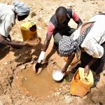 The Water Project: Kaketi Community A -  Fetching Water
