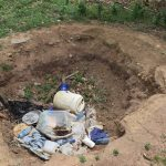 The Water Project: Kaketi Community A -  Garbage Pit