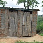 The Water Project: Kaketi Community A -  Latrine And Bathing Shelter