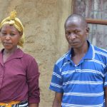 The Water Project: Kaketi Community A -  Lenah Wanza And Her Husband