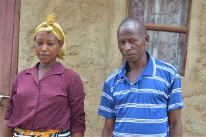 The Water Project:  Lenah Wanza And Her Husband