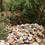 The Water Project: Kaketi Community A -  Rocks Gathered For Construction Of The Project