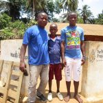 The Water Project: Kigbal Community -  Field Officer With Mbalu Turay And Mohamed Kamara