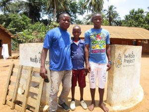 The Water Project:  Field Officer With Mbalu Turay And Mohamed Kamara