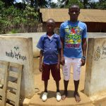 The Water Project: Kigbal Community -  Mbalu Turay And Mohamed Kamara