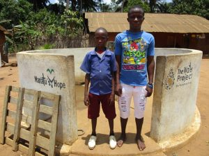 The Water Project:  Mbalu Turay And Mohamed Kamara