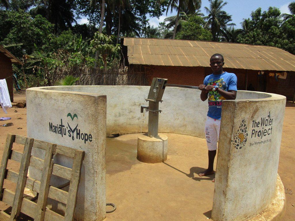 The Water Project : sierraleone18252-mohamed-kamara