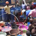 The Water Project: Mummy Ann's Pre-Primary School -  Yield Test