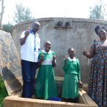 The Water Project: DEC Makassa Primary School -  Thumbs Up For Running Water