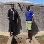The Water Project: Bukhubalo Primary School -  Hellen And Milton
