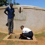 The Water Project: Shanjero Secondary School -  Sanitation Teacher Cyrus And Student Chelsea