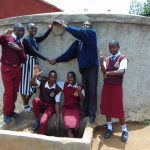 The Water Project: George Khaniri Kaptisi Mixed Secondary School -  Hands Up For Flowing Water