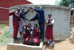The Water Project:  Hands Up For Flowing Water