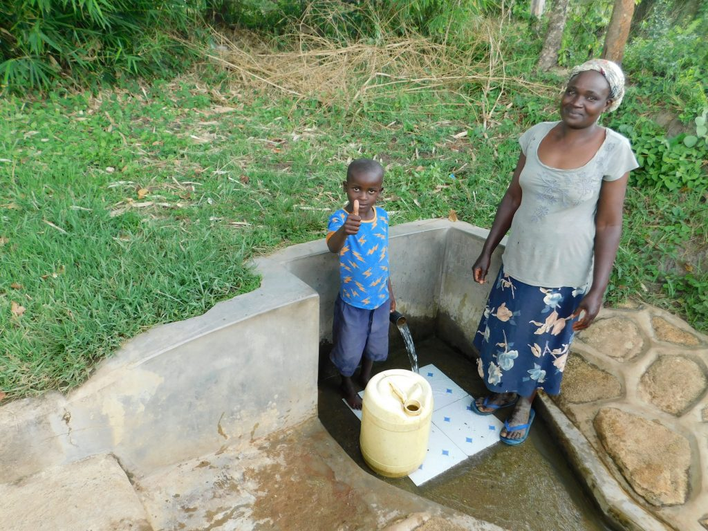 The Water Project : 1-kenya18089-justin-and-lydia