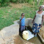 The Water Project: Shihingo Community, Mulambala Spring -  Justin And Lydia