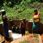 The Water Project: Shilakaya Community, Shanamwevo Spring -  Gushing Water